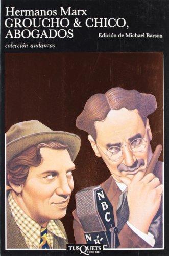 Descargar Libro Groucho & Chico, Abogados Hermanos Marx