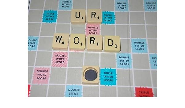6 x Scrabble con imanes de nevera de Scrabble Original en caja de regalo: Amazon.es: Hogar