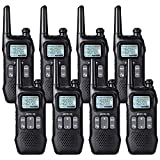 Retevis RT16 2 Way Radio Rechargeable Two Way Radio FRS Dual Watch FM Flashlight 121 Privacy Code VOX NOAA Security Walkie Talkie for Adult (8 Pack)