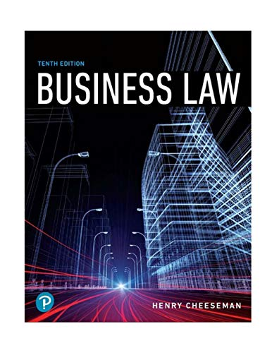 Business Law (10th Edition) (What