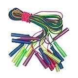 Toyvian Adjustable Skip Rope Plastic Handle Jump Rope Crossfit Rope Kids Fitness Equipment