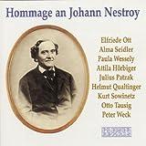 Hommage an Johann Nestroy. Couplets, Monologe und Szenen