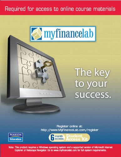 Myfinancelab 6 Month Student Access Code Card  For Valuepacks  For Personal Finance  Turning Money Into Wealth And Student Workbook And Myfinlab Package