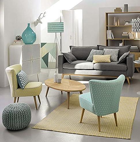 LZL Benötigen Freizeit Sessel Stoff Kunst Einem Stuhl Kleine Wohnung Balkon  Familie Einem Stuhl Wohnzimmer,