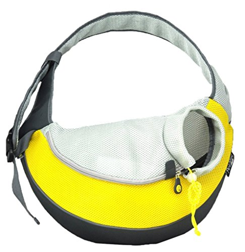 Wacky Paws Pet Sling-Yellow-Large