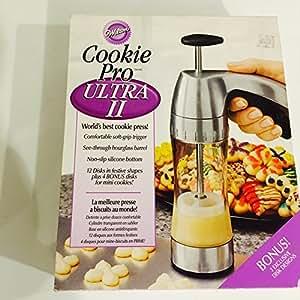 Wilton Cookie Pro Ultra II With 3 Bonus Disks. (20)