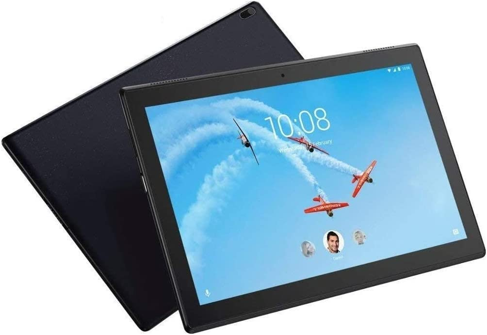 """Lenovo Tab 4 10 Plus 10.1"""" FHD+ (1920x1200) Android Tablet (8-Core Processor, 4G-LTE AT&T Unlocked, 2GB RAM, 32GB eMMC) Kids Mode, Full HD Touchscreen, WiFi, Bluetooth, Dolby Atmos Audio, Black"""