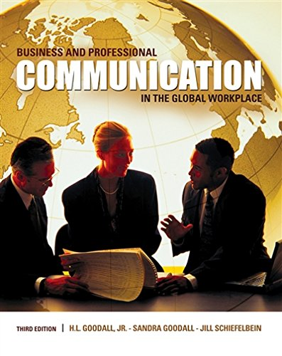 PDF Download Business And Professional Communication In