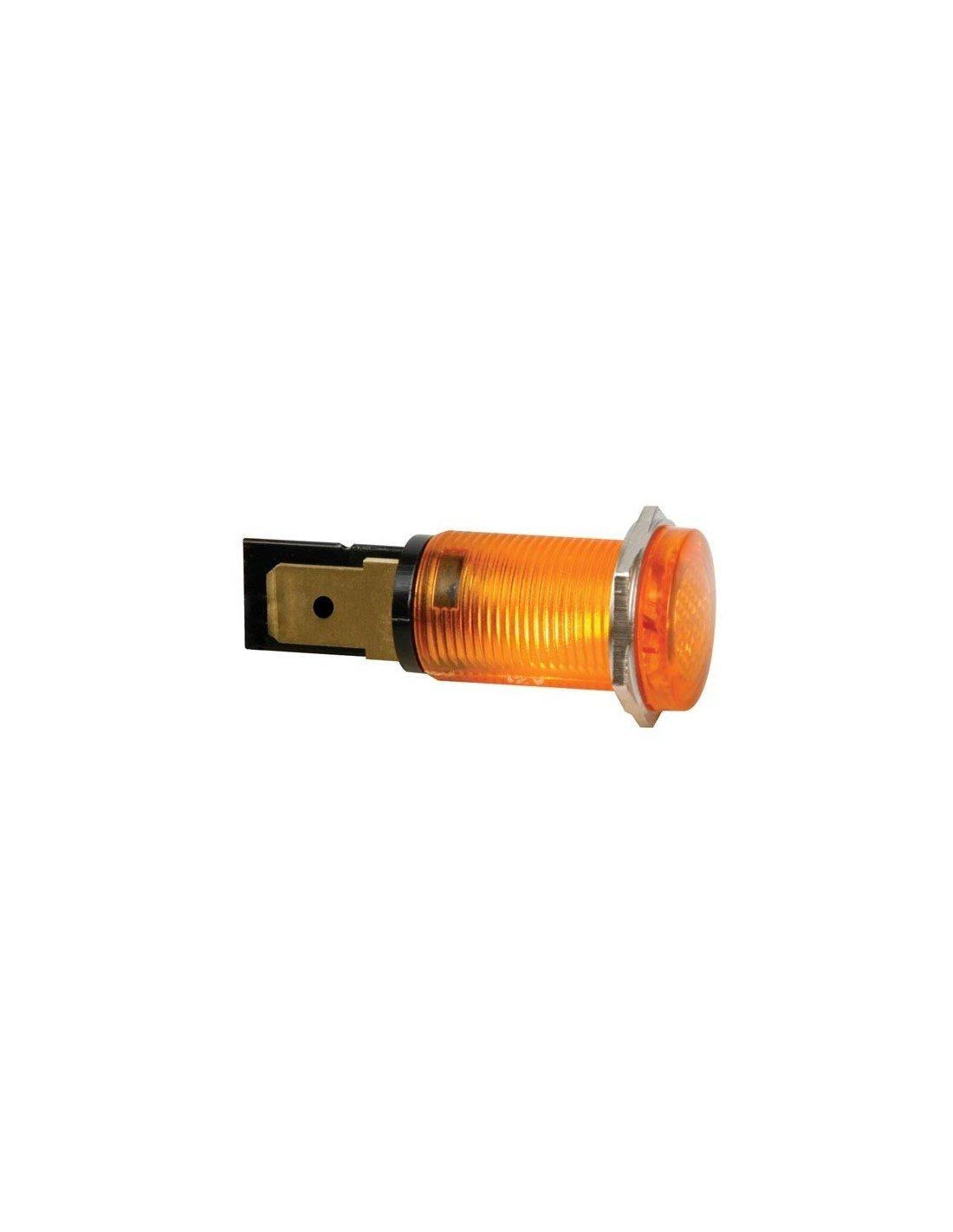 Seder 124037 Signalleuchte, 14 mm, 230 VAC, Gelb