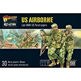 Bolt Action US Airborne Paratroopers 1:56 WWII Military Wargaming Figures Plastic Model Kit