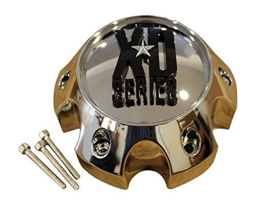 KMC XD Series 796 797 798 Chrome 6 Lug Wheel Rim Center Cap 1079L145