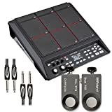 Roland SPD-SX Percussion Pad with RT-30K & RT-30HR Acoustic Drum Trigger, Cable - Bundle