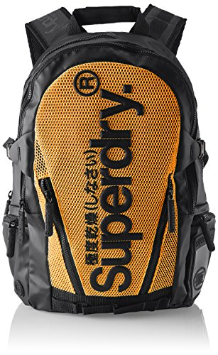 Superdry À Multicolore Sacs Meshtarpbackpack orange Dos black r7garWq4