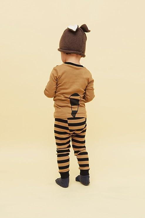 Vaenait - Pijama de bebé para Halloween, tallas XS-XL, pijama de manga larga con diseño de animal, para Halloween marrón XL: Amazon.es: Ropa y accesorios