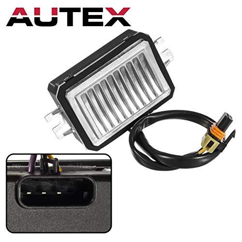 (AUTEX Auto Blower Motor Resistor RU536 JA1557 4P1424 Replacement for Buick Lesabre,Cadillac Deville,Pontiac Bonneville 2000-2005 Compatible with Cadillac Seville 1998-2004,Oldsmobile Aurora 2001-2003)