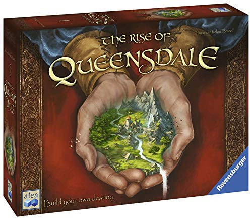 Ravensburger The Rise of Queensdale Strategy Board Game