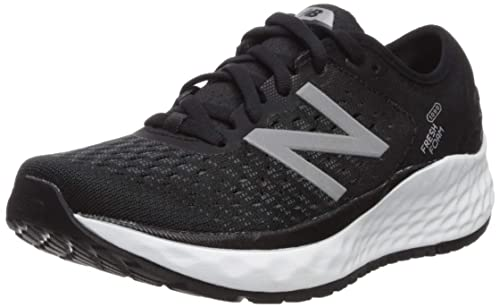 69986869eb75e New Balance Women's Fresh Foam 1080 Running Shoes, Black (Black/White),