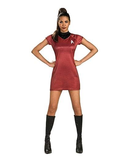 Star Trek Uhura traje para las mujeres: Amazon.es: Juguetes ...
