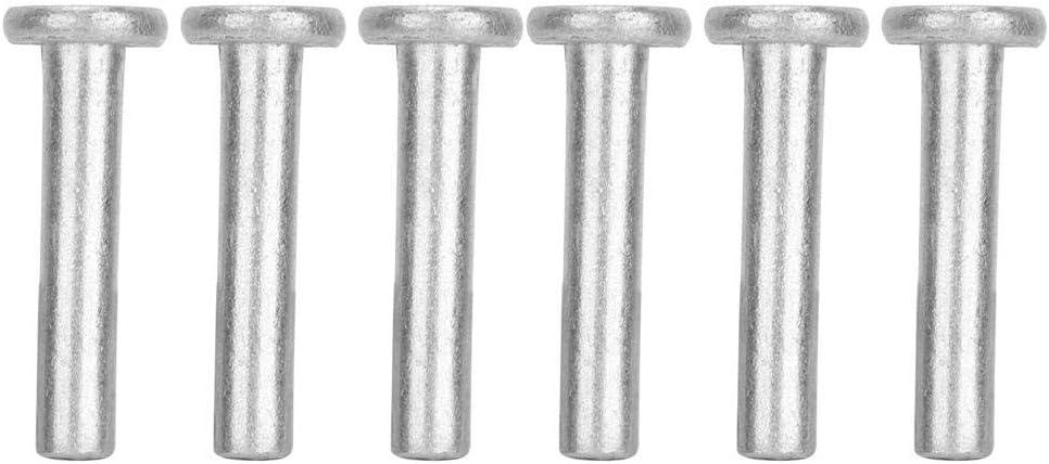 M420 100pcs Flat Head Aluminum Rivets Flat Head Solid Rivet GB867 M-4 Durable