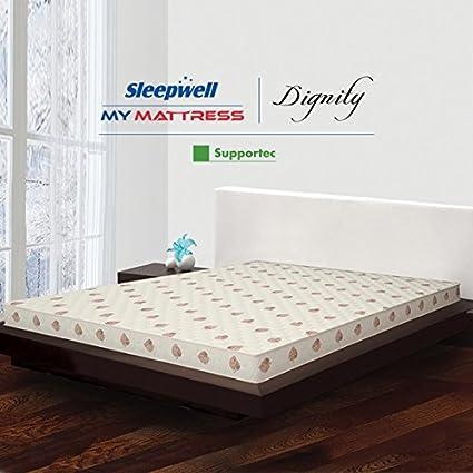 Sleepwell Dignity Supportec Mattress - (78 x 72 x 5 Inches c9673931f