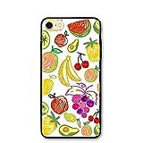 Trendy Dust-proof Apple Lemon Butterfly Watermelon Healthy Iphone8 Case