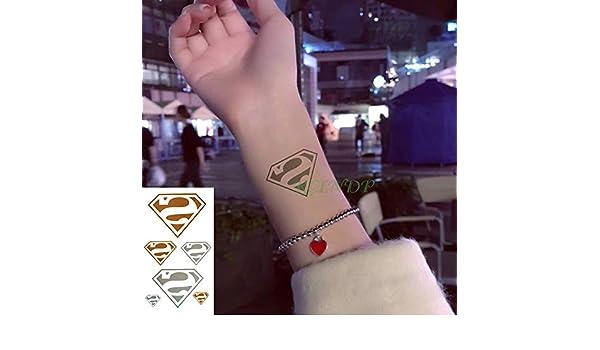 Modeganqing 10 Piezas Impermeable Tatuaje Temporal Pegatina ...