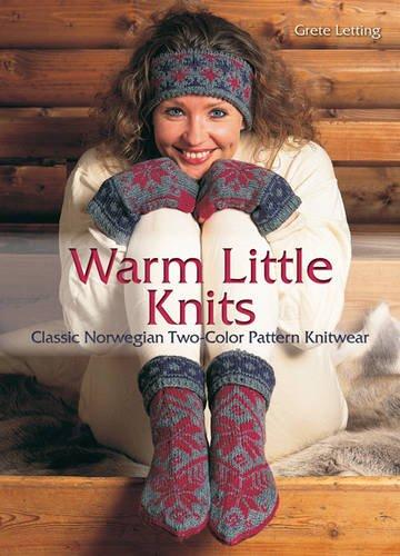 Download Warm Little Knits: Classic Norwegian Two-Color Pattern Knitwear PDF