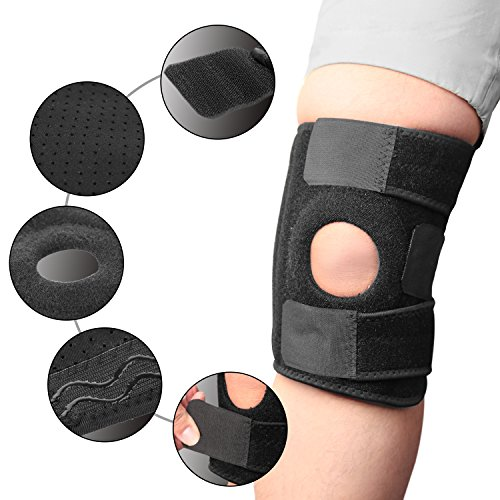 KevenAnna-Knee-Support-Breathable-Knee-Brace-for-Knee-Support-and-Pain-Relief-Open-Patella-Design-with-Anti-Shock-Strips