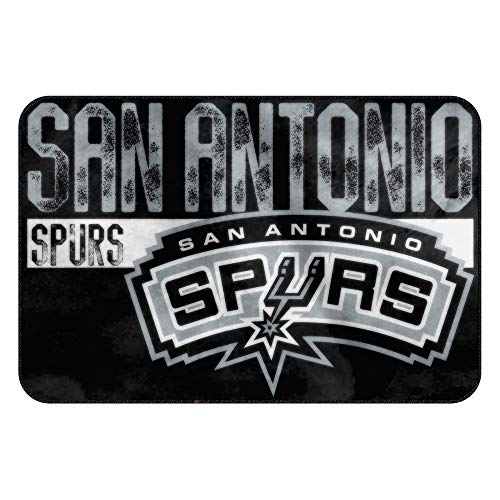 The Northwest Company Officially Licensed NBA San Antonio Spurs Worn Out Memory Foam Rug, 20