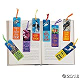 Fun Express Ocean Animals Kids Bookmarks Classroom Supply & Party Favors | (96 Pack)