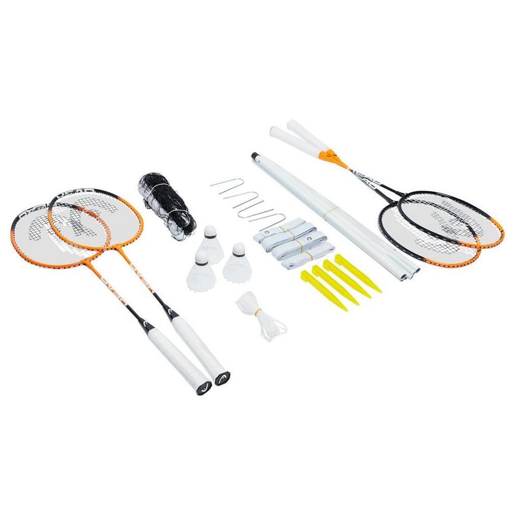 Head Badminton Leisure Set Badminton Equipos Raquetas Luz Naranja, Naranja, Talla Única Talla Única