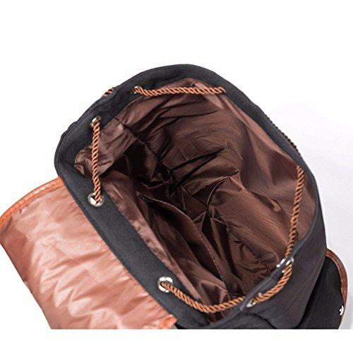 colorés Winnerbag 001170a Cordon Sacs Unicorn Sac les Design dos l'école femmes Imprimer voyage pour pour adolescents à Cartoon dos à Toile sac dos de à rayé qtfFt