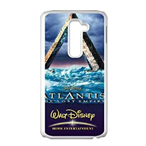 LG G2 White phone case Classic Style Disney Cartoon Atlantis The Lost Empire WHD8972682