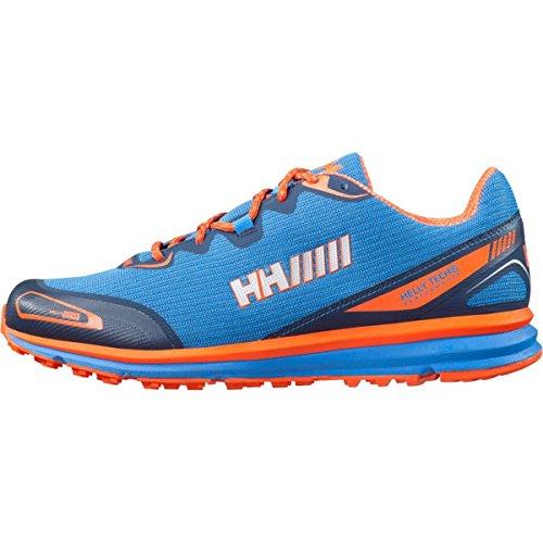 Helly Hansen Pathflyer Ht, Zapatillas de Running para Hombre Azul / Naranja (Racer Blue / Navy / Magma)