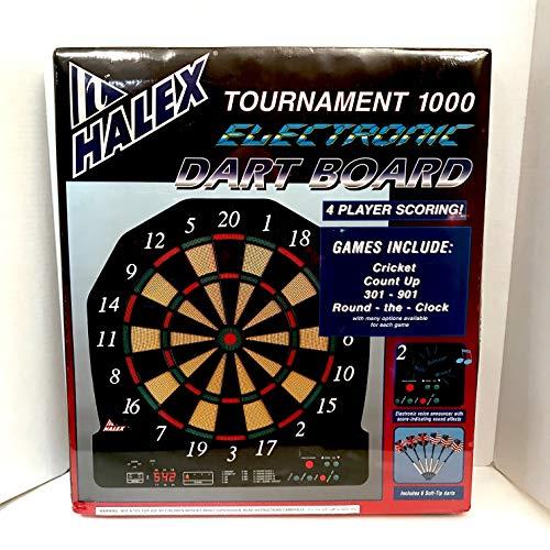 Halex Tournament 1000 Electronic Soft-Tip Dart Board (Dartboard Regent)