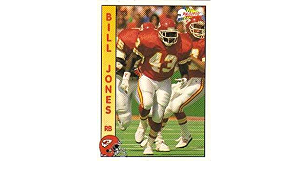 1992 Wild Card WLAF Football #85 Tony Jones NY NJ Knights Official World League of American Football Trading Card From The Wild Card Company in Raw NM or Better Condition