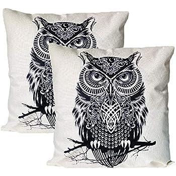 Amazon Com Jahosin Set Of 2 Throw Pillow Covers 18 X 18