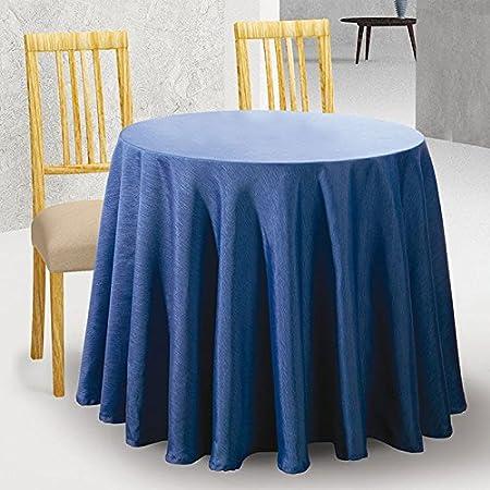 Falda de Mesa Camilla Redonda Modelo DOVER, Color MARFIL C/1, Medida 60cm diámetro: Amazon.es: Hogar