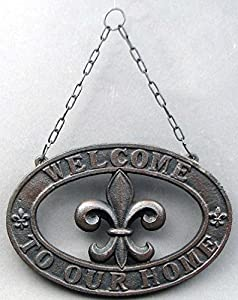Amazonm Voojostore Cast Iron Fleur De Lis Welcome. Shape Diamond Rings. Round Diamond Wedding Rings. Lily Engagement Rings. Personalized Engagement Rings. Classic Square Cut Wedding Rings. Nilam Rings. Tacky Wedding Rings. Special Rings