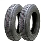 Set of 2 New Boat Trailer Tire 4.80-12 4.80x12 6PR Load Range C 11048