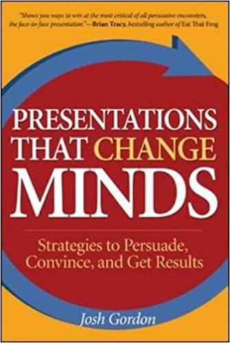 presentations that change minds strategies to persuade convince