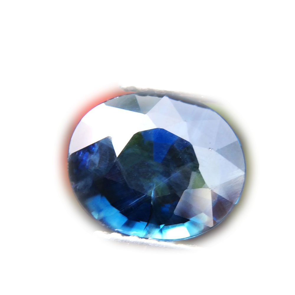 1.51ct Natural Oval Unheated Blue Sapphire Thailand #B
