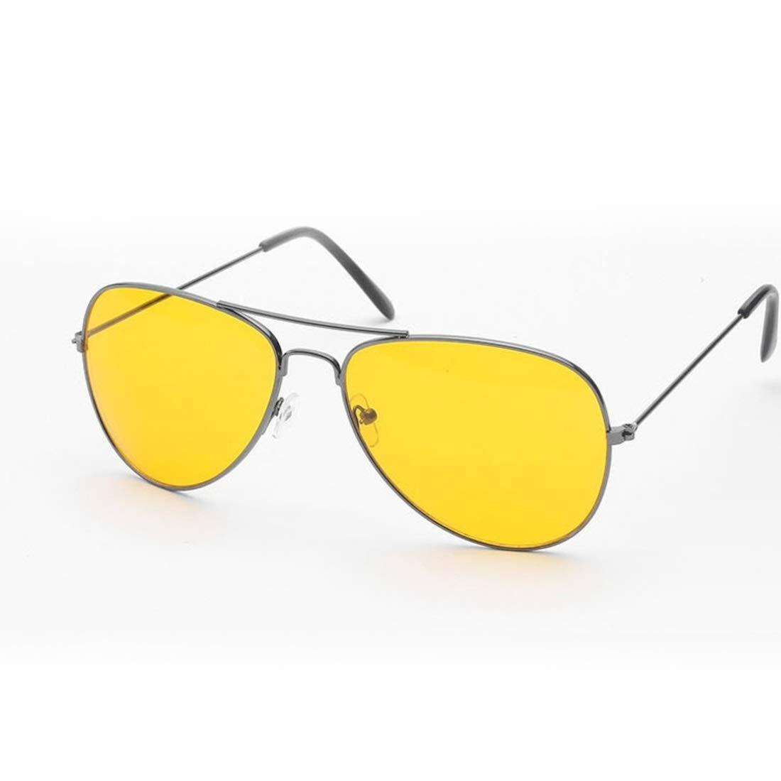 Color : Silver Anglayif Occhiali da vista per guida notturna per gli occhiali da notte per la guida di occhiali da vista per la guida di occhiali per la guida notturna