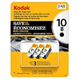 Kodak 10 Series Black Ink Cartridge - 3 ...