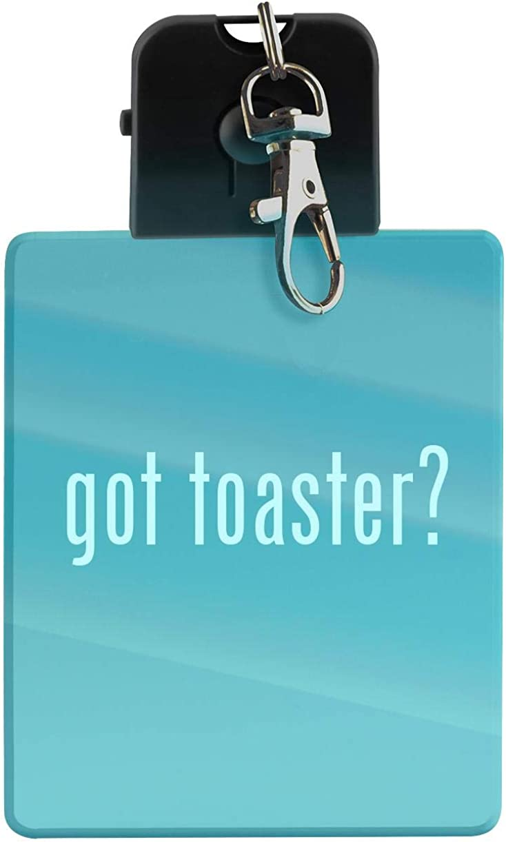 got toaster? - LED Key Chain with Easy Clasp