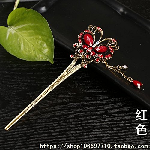 (Wholesale jewelry retro souvenirs hairpin hairpin hairpin hairpin hair accessories scenic hot ethnic jewelry for women girl lady)