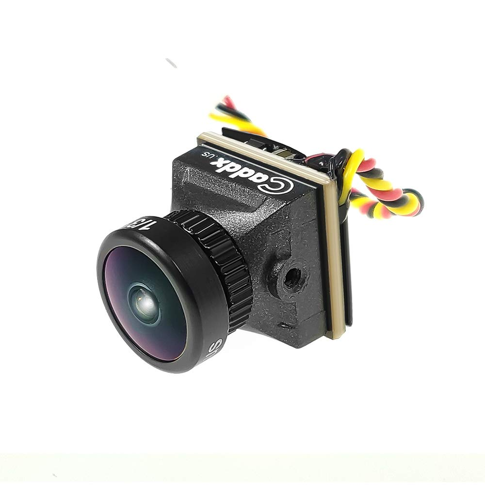 Caddx Turbo Eos2 1200TVL NTSC 4:3 2.1mm Micro FPV Camera for Tiny Whoop Brushless 2/2.5/3 inch Micro FPV Racing Drone Quad Quadcopter by Usmile