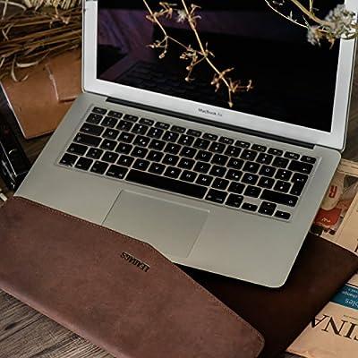 LEABAGS Mississippi Laptopsleeve aus echtem Büffelleder im Vintage Look