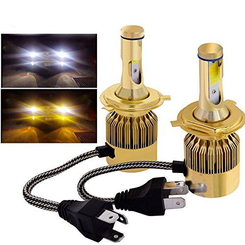 yellow headlight bulbs h4 - 5