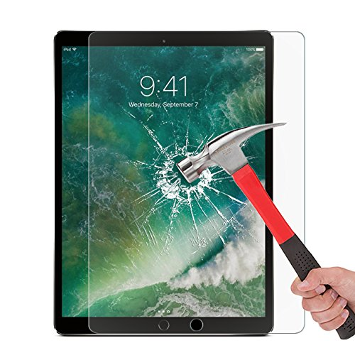 OMOTON New iPad Pro 12.9 Screen Protector, Tempered Glass Screen Protector with [High Responsivity] [High Definiton] [Bubble Free] for Apple iPad Pro 12.9 inch (2017 and 2015 Version) by OMOTON (Image #7)